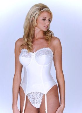 d7c6d8cea Isabella Bridal Basque from Moonrise Lingerie