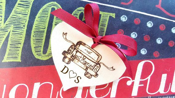 Check out this item in my Etsy shop https://www.etsy.com/listing/482913211/wedding-ornament-personalized-ornaments