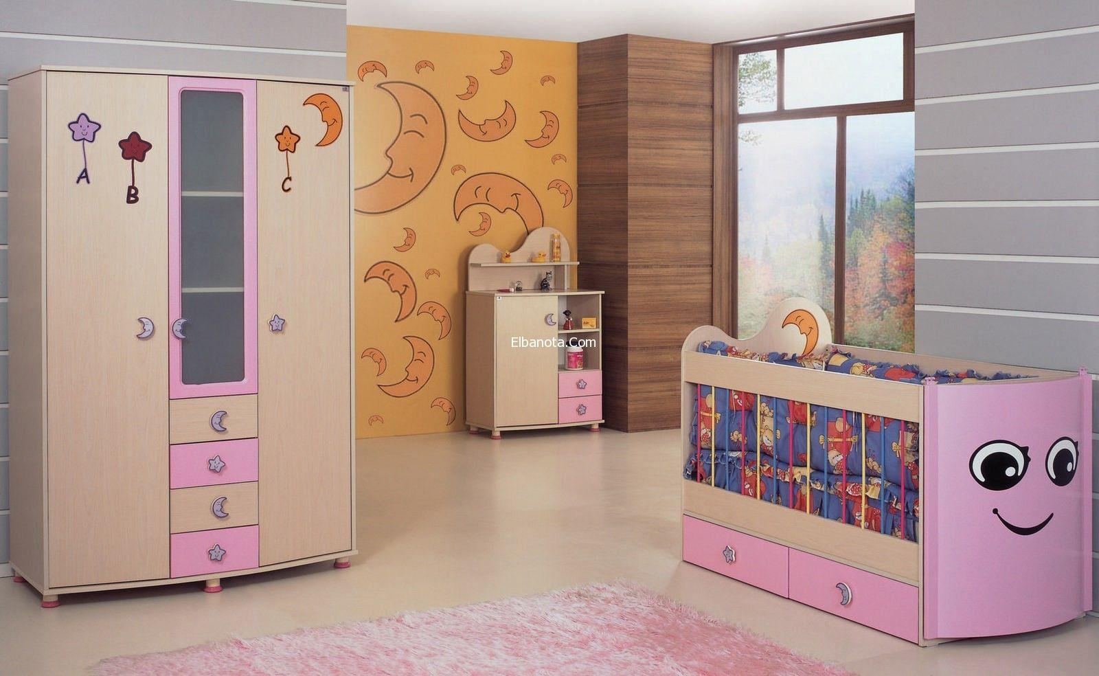غرف نوم للاطفال بالصور ديكورات غرف نوم للاطفال بنات اثاث غرف نوم للاطفال الرضع احلى ديكورات بنوته كافيه Toddler Bed Bed Home Decor