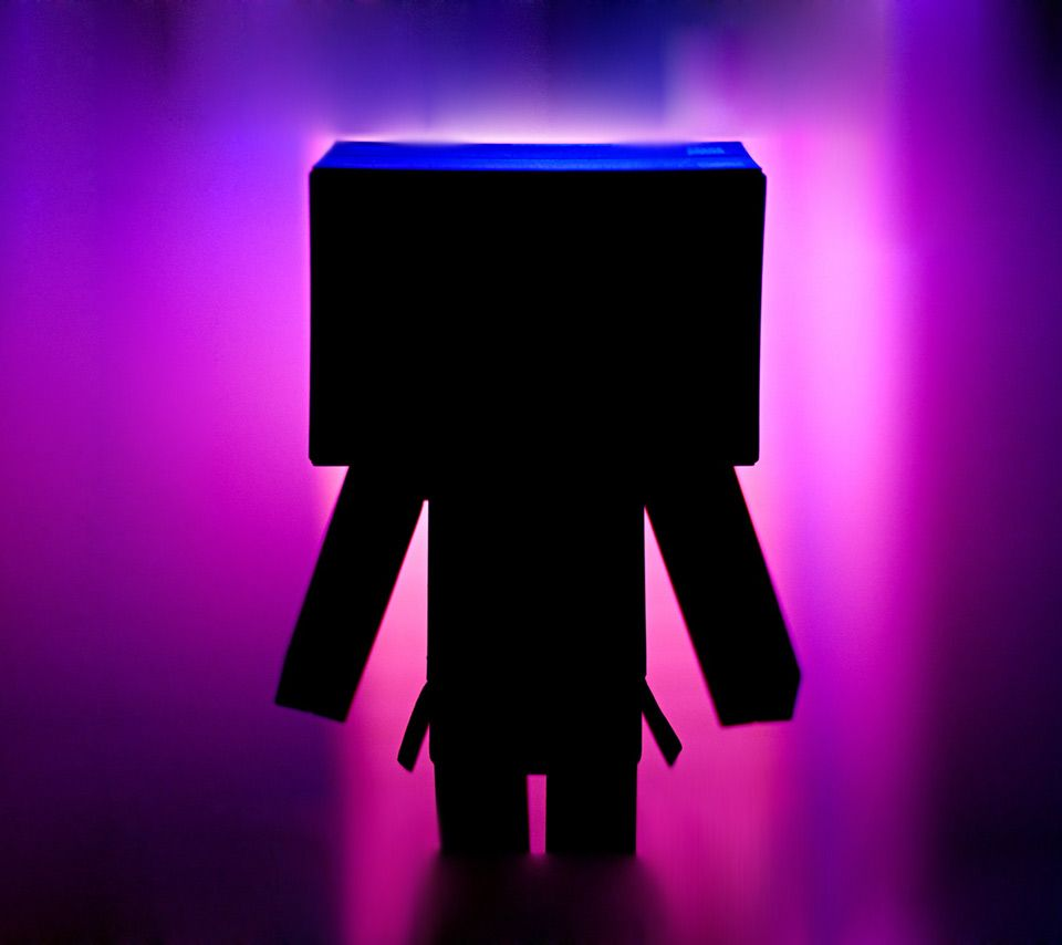 Cute Box Guy | Box Man Black Other Danbo Boxman Amazon Colorful Cute Lonely Dark ...
