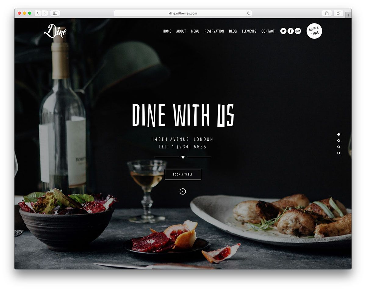 15 Best Restaurant WordPress Themes 2018 WordPress