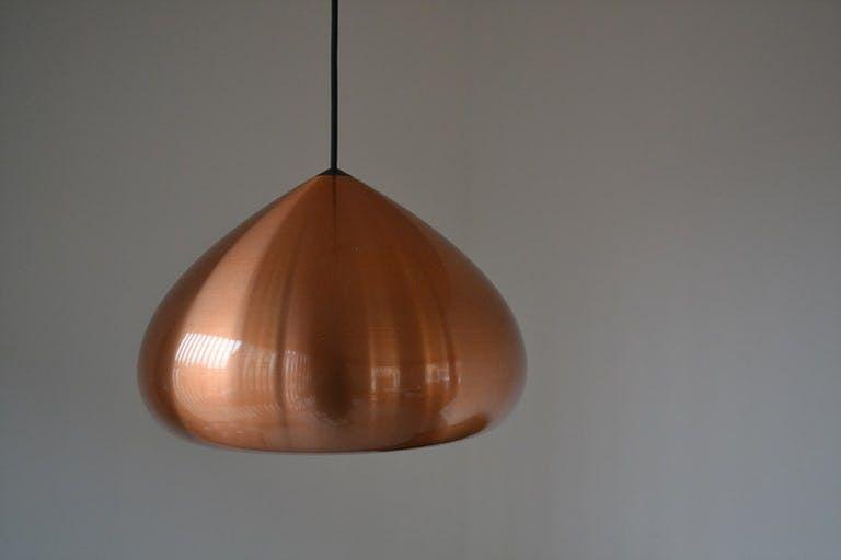 60 S Danish Design Copper Pendant Lamp