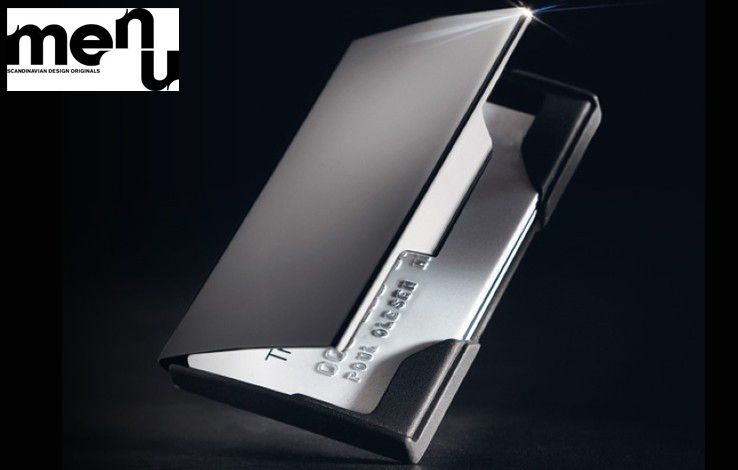Menu titanium business card holder men wallets card case card id business card holders colourmoves