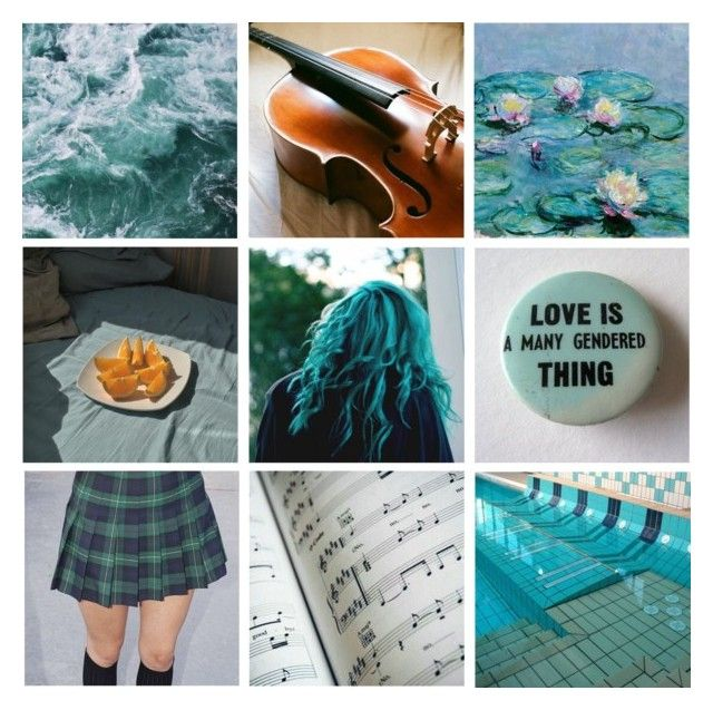 """Sailor Neptune"" by wonderlandofgeeks ❤ liked on Polyvore featuring art"