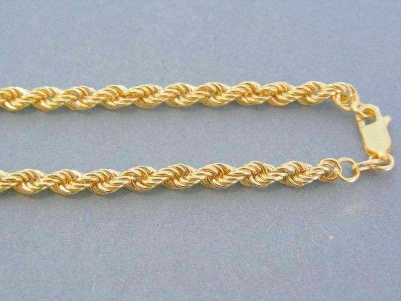 Retiazka točený vzor žlté zlato DR42647Z