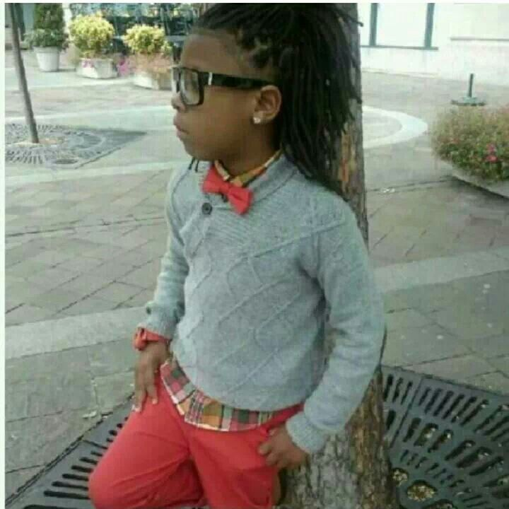 Cute kids with locs