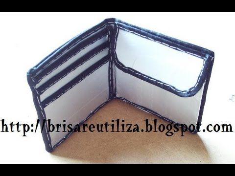 De Tetrabrick Reciclaje Billetera Wallet cartera By Diy aT56wZxn5