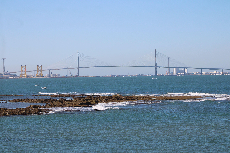 puente de la Constitución desde El Puerto de Santa María