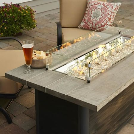 Photo of indoor fire pit coffee table – Furniture has become an essential section of huma…
