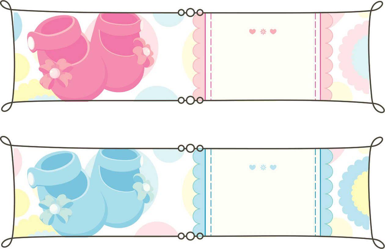 tarjetas de recuerdos de baby shower para imprimir 2 johanna