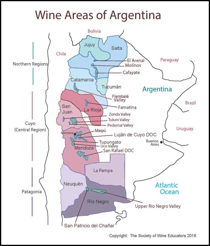 Click Here To Download A Pdf Of The SWE Map Argentina Note - Argentina map download