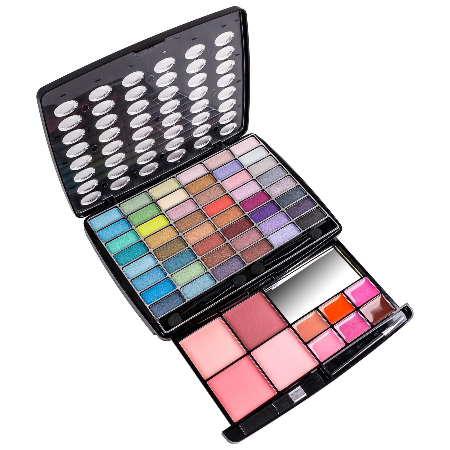 Shany Glamour Girl Makeup Kit 48 Eyeshadow 4 Blush 6 Lip Glosses