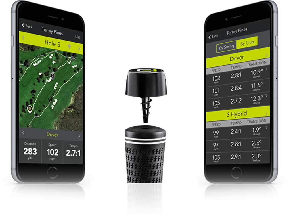 ClubHub Swing Analysis and Shot Tracking Golf
