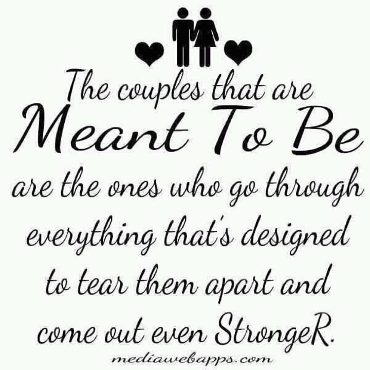 The story of my marriage. My husband is my rock- and our ...