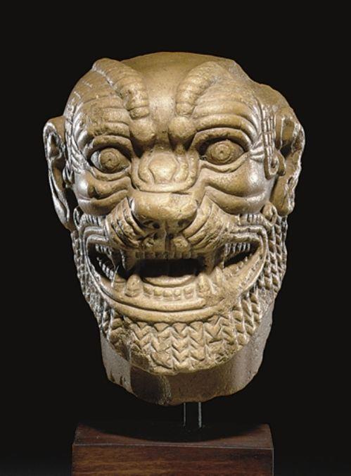 Neo-Assyrian Head of Pazuzu, Circa 8th-7th Century BC ...
