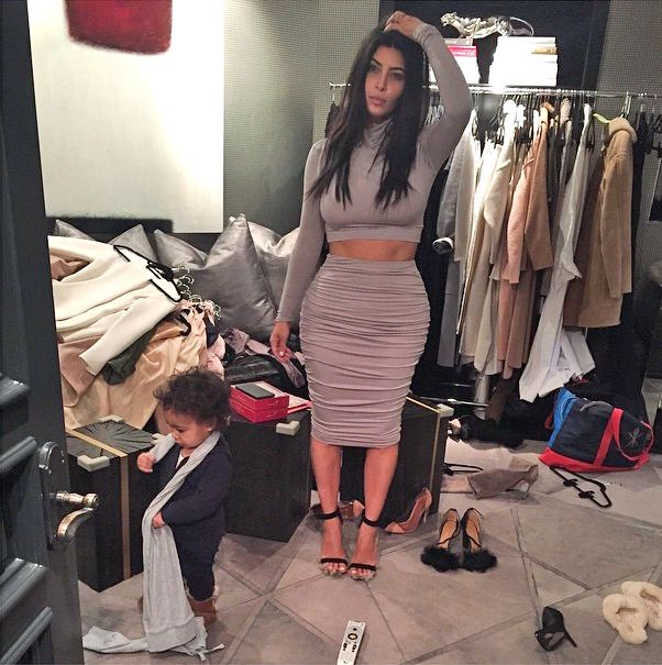 Kim kardashian | Kim kardashian closet, Kim kardashian and ...