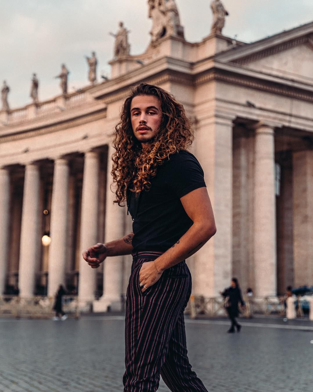 Rome could you be anymore beautiful chandlervoice hair inspo