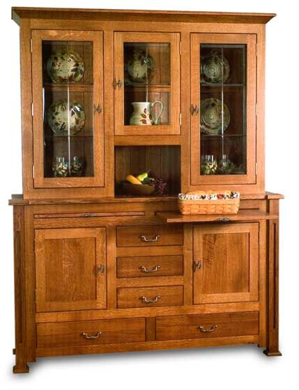 Pin On Buffets Amoires And Hutches Oak hutch and buffet