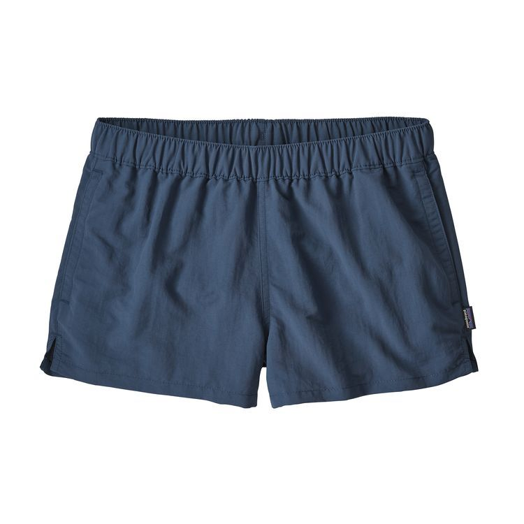 W S Barely Baggies Shorts 2 Stone Blue Snbl Patagonia Womens Womens Outdoor Clothing Outdoor Outfit