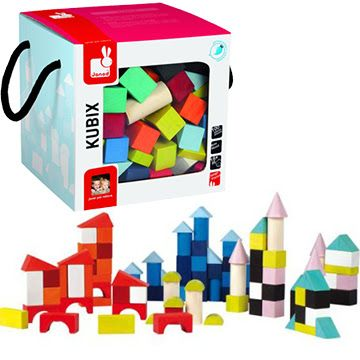 Janod Block Set  #kids #toys #Christmas #holiday #gifts #hipbaby
