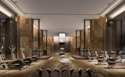 Fitness Gym Design Spaces Modern Luxury 60 Ideas #fitness