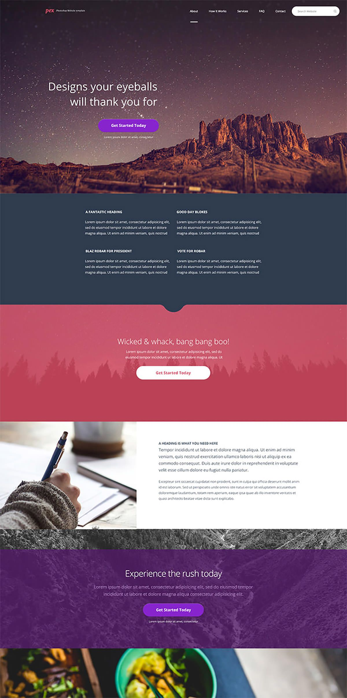 20 Beautiful Psd Templates You Can Download For Free Webdesign