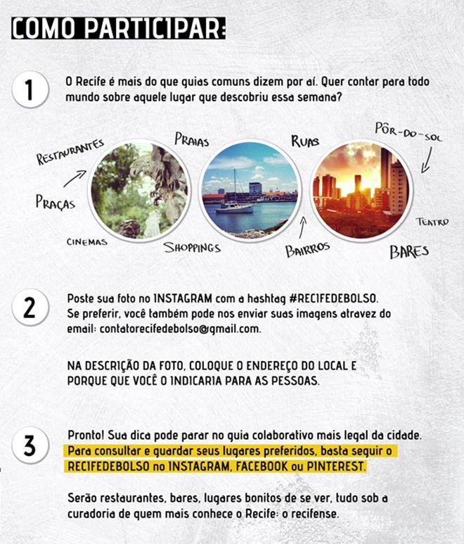 Projeto Recife de Bolso, como participar