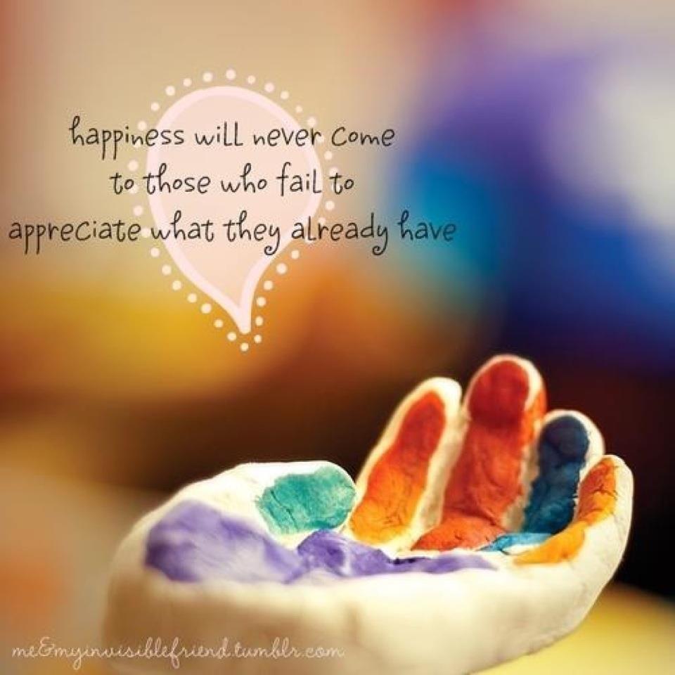 Appreciate. Gratitude. Spiritual. Emotional. Physical.