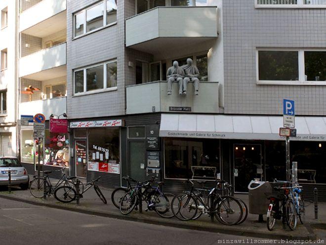 streetart belgisches viertel koln i maastrichter strasse brusseler platz bismarckstrasse antwerpener strasse i mark jenkins