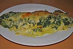 Fisch - Kartoffel - Auflauf mit Spinat und Knoblauch von Pitty2 | Chefkoch