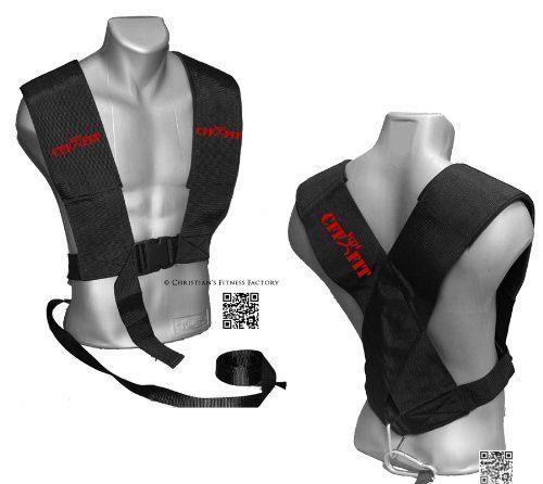 Large//X-Large CFF Multi Purpose Sled Harness Vest