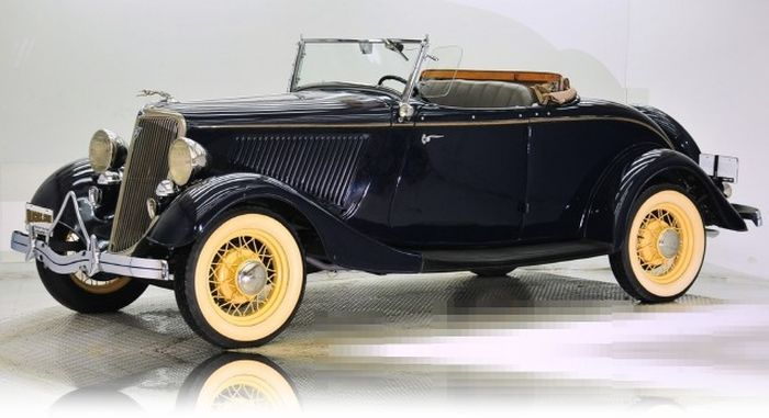 1934 Ford Deluxe Rumble Seat Roadster - (Ford Motor Company Dearborn Michigan 1903-present) | Vintage  Wheels  | Pinterest | Ford Ford motor company and ... & 1934 Ford Deluxe Rumble Seat Roadster - (Ford Motor Company ... markmcfarlin.com