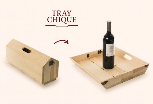 Traychique Wine Box Wine Gift Boxes Wooden Boxes