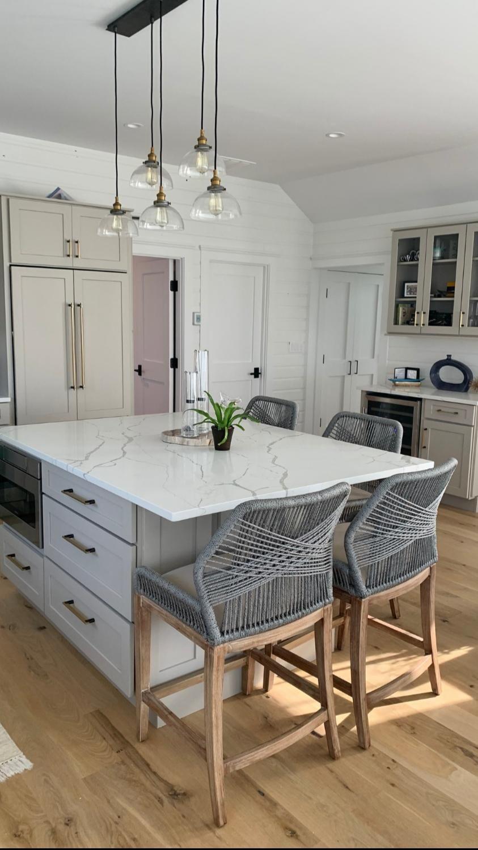 Фото: Интерьер кухни - Квартира в стиле современной классики, ЖК «Смольный парк», 170 кв.м.