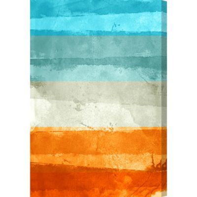 Oliver Gal Artist Co Summer Sun Canvas Wall Art Multi Products