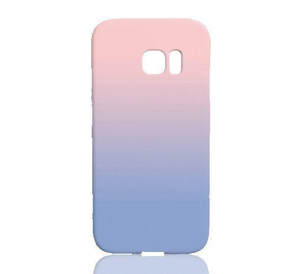 timeless design fdac8 d9847 Rose Quartz & Serenity Ombre Phone Case - Samsung Galaxy S7 Edge in ...