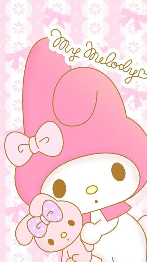 Mymelody Pink Sanrio My Melody WallpaperKawaii WallpaperHello Kitty