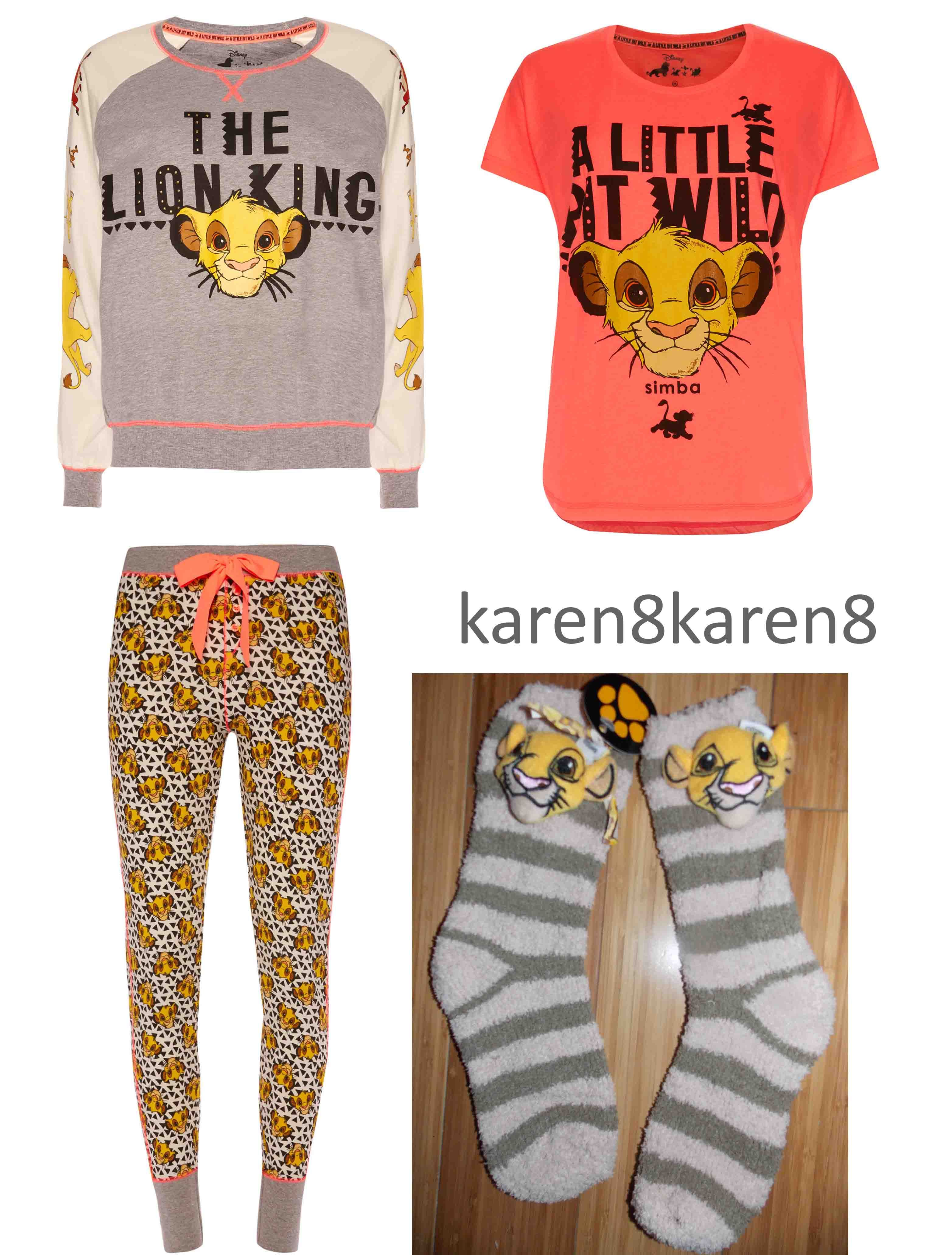 1cc495602 Lion King Simba Nala Pj s Pajamas on sale now at ebay account karen8karen8  Disney Clothes