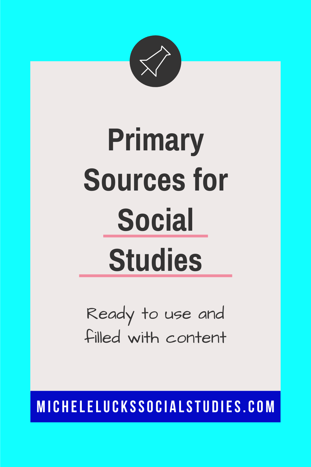 Primary Sources For Analysis High School History Classroom Social Studies Social Studies Lesson