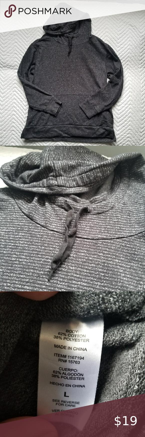 Champion Elite Light Hoodie Large Grey Comfy Hoodies Used Clothing Champion Tops [ 1740 x 580 Pixel ]