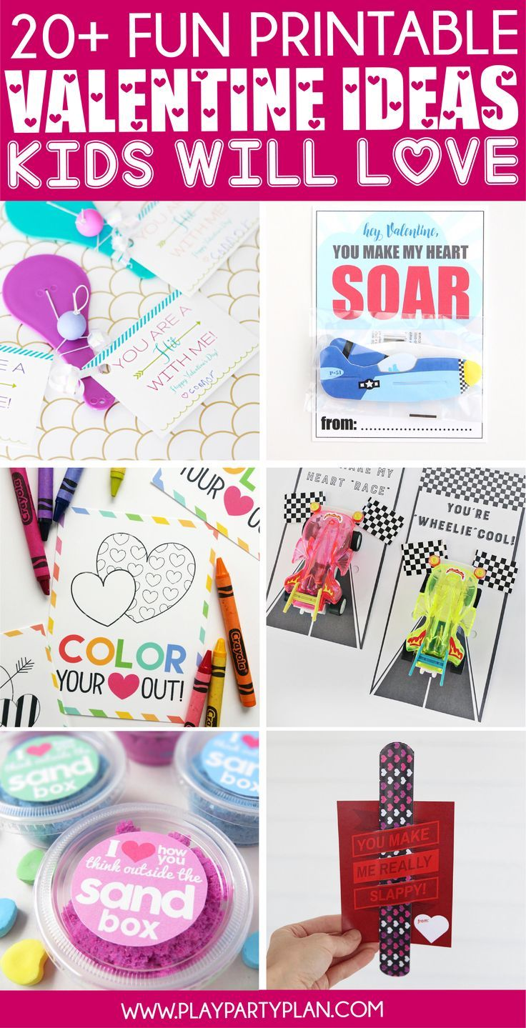 20 of the most fun valentines for kids  preschool