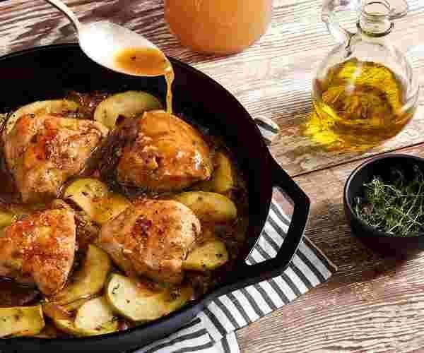 Apple Cider Chicken #appleciderchicken Apple Cider Chicken #appleciderchicken