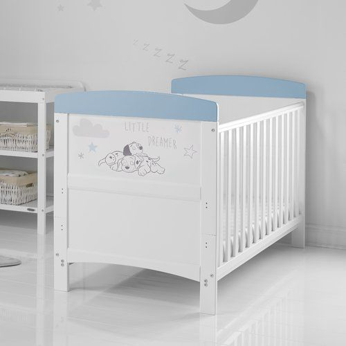 White Isabella Cot Bed //Jnr Bed//Coolmax Pocket Sprung Mattress//Changer//Drawer
