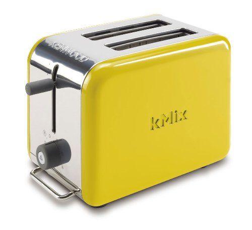 Kenwood Kmix Boutique 2 Slot Toaster Bright Yellow Yellow Toaster Toaster Kenwood Kmix