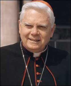 Bernard Francis Law Metropolitan Archbishop emeritus Bernard Francis Law of Boston USA