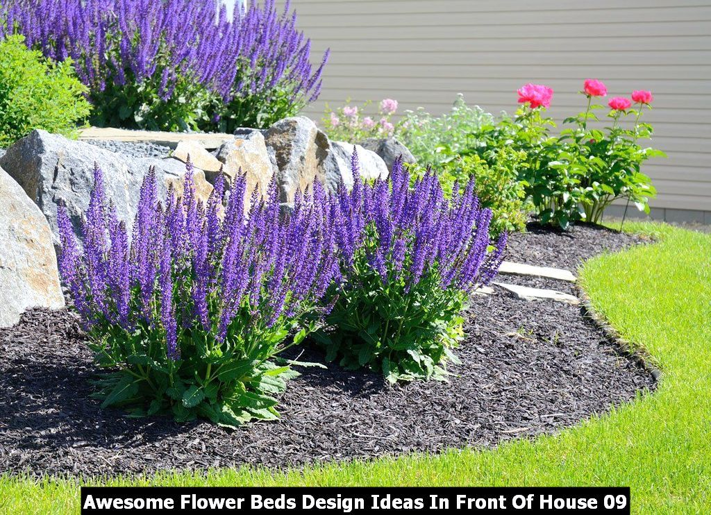 Photo of Awesome Flower Beds Design Ideas In Front Of House