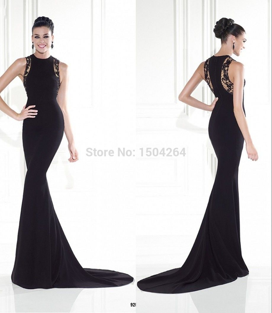 Long Black Dresses 2015
