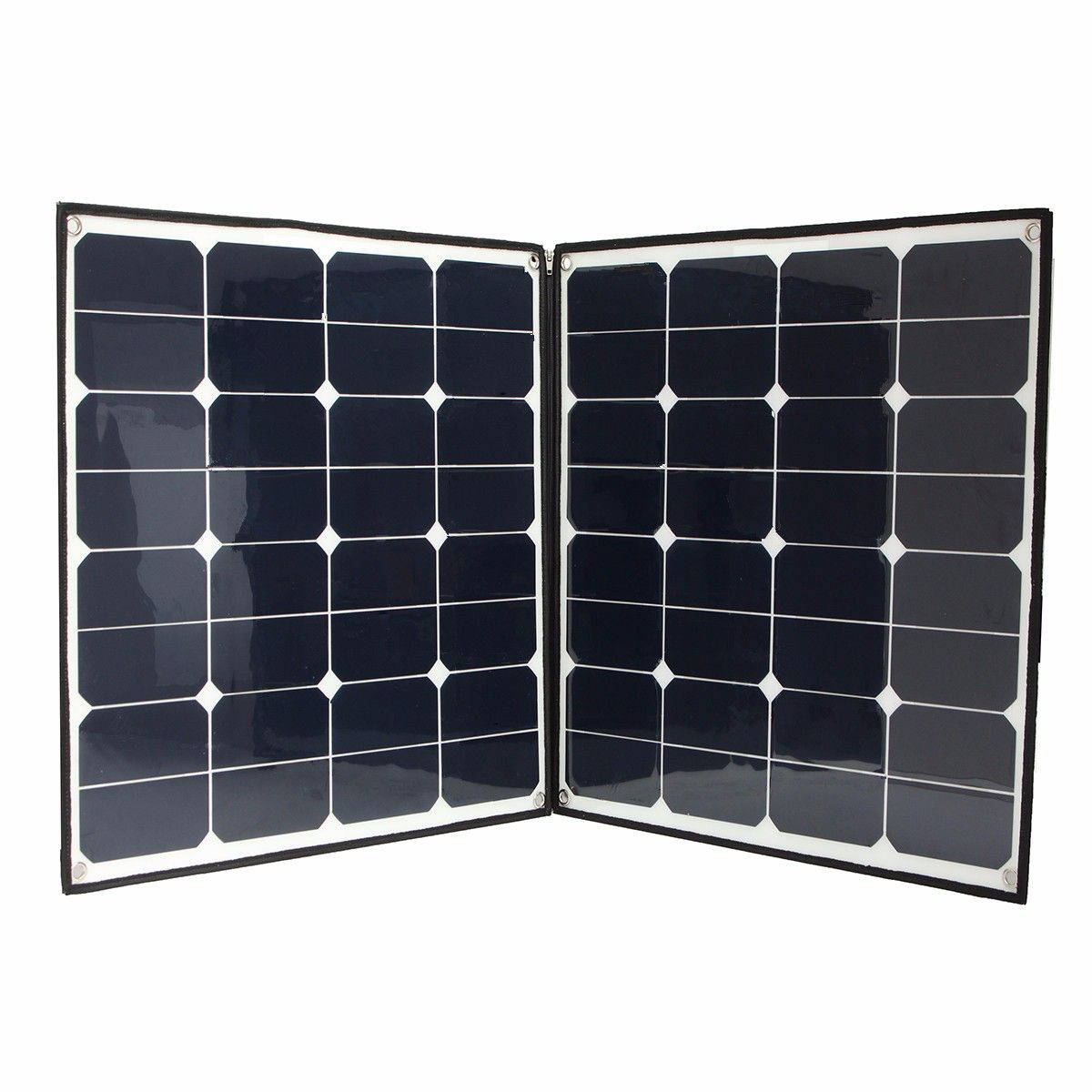 Elfeland Sp 20 100w 18v Folding Portable Solar Panel Photovoltaic Zipper Charge Caravan Portable Solar Panels Solar Panels Solar Panels For Home