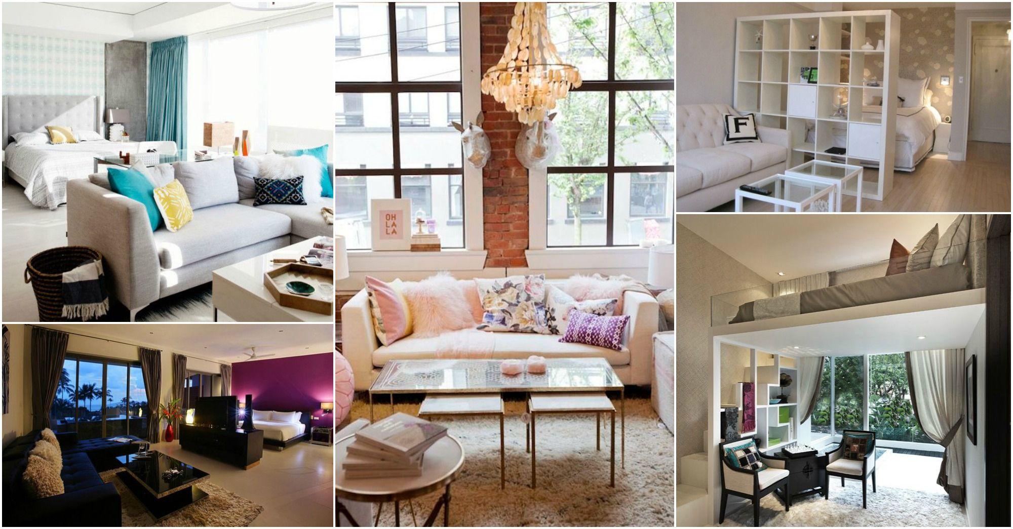 Tiny Studio Apartment Big Design Ideas For Small Studio