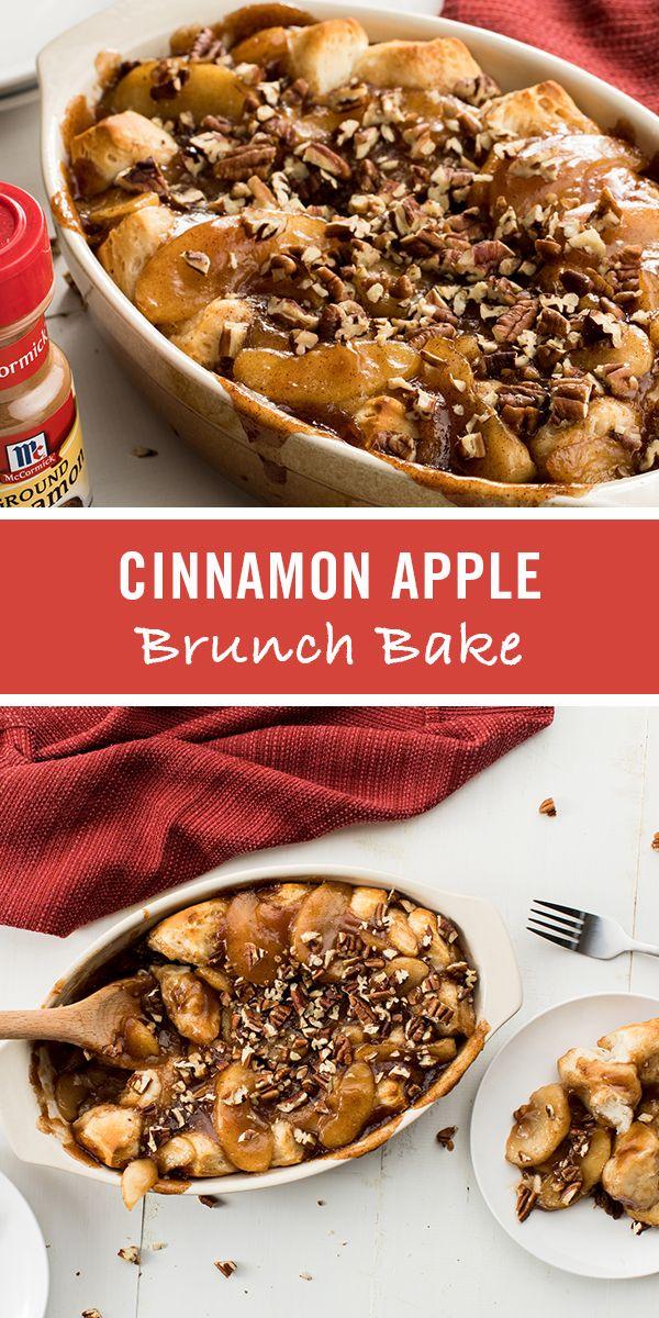 Cinnamon Apple Brunch Bake Recipe Fall breakfast